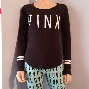🎃VS PINK THERMAL PAJAMA SET SMALL